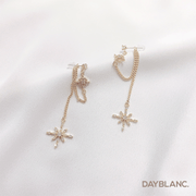 Double Chain Star (Premium Earring) - DAYBLANC