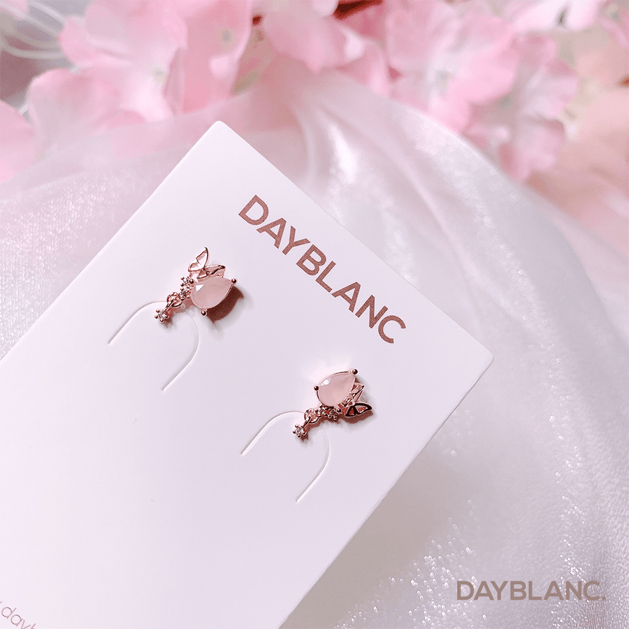 Rose Quartz Fairy (Earring) - DAYBLANC