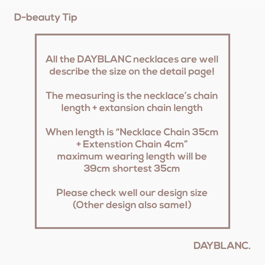 Necklace Chain Customise - DAYBLANC