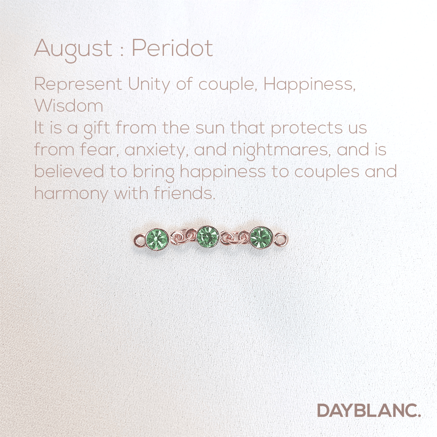 Adore You (Earring/Premium/Birthstone) - DAYBLANC