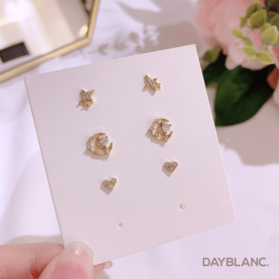 Galaxy Holic Set (Earring) - DAYBLANC