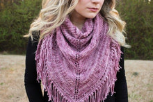 """Bramble Way"" 2 SKEIN Shawl Kit Pre-Order"
