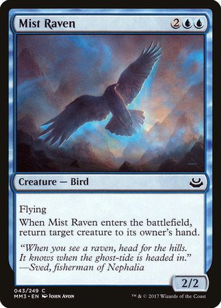 Mist Raven [Modern Masters 2017] | Game Knights | MA | Game Knights MA