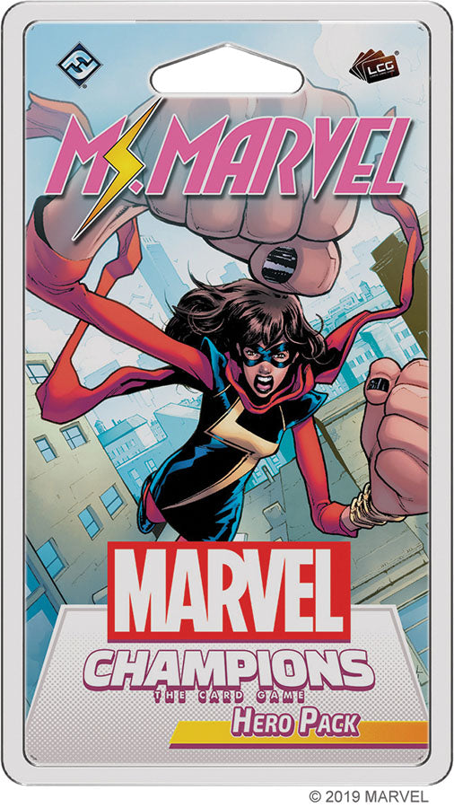 Marvel Champions LCG: Ms. Marvel Hero Pack | Game Knights MA