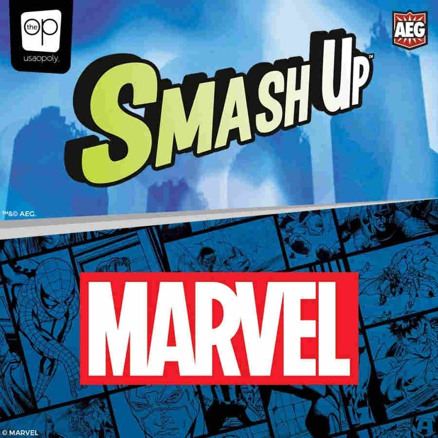 SMASH UP: MARVEL | Game Knights | MA | Game Knights MA