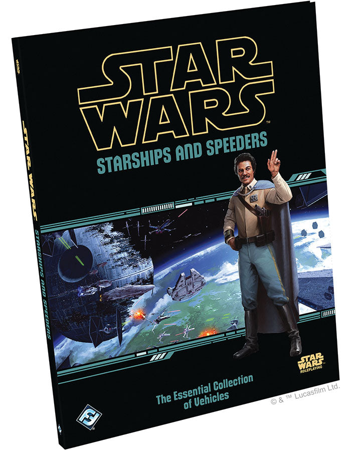 Star Wars RPG: Starships and Speeders Hardcover | Game Knights | MA | Game Knights MA