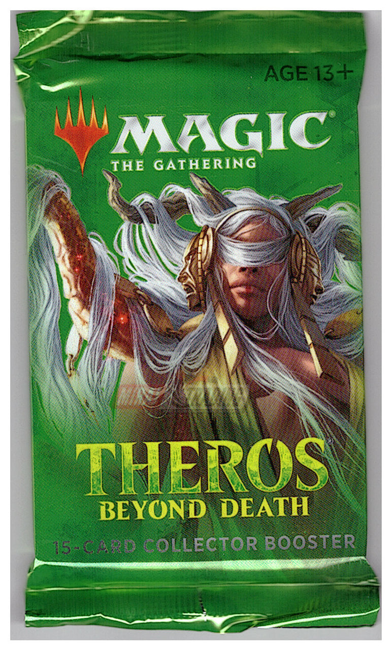 Magic the Gathering CCG: Theros Beyond Death Collector Booster Pack | Game Knights | MA | Game Knights MA