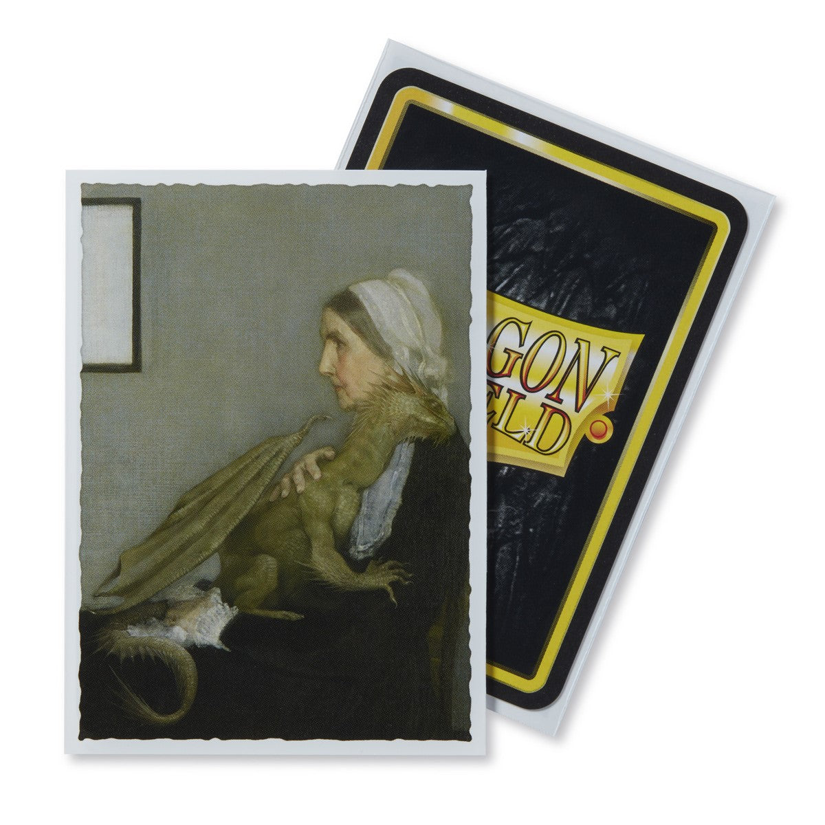 Dragon Shields: (100) Art Sleeves Classic Whistler`s Mother | Game Knights MA