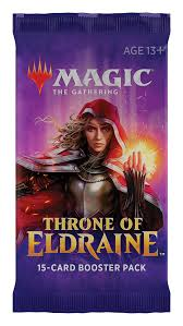 Magic the Gathering CCG: Throne of Eldraine Booster Pack | Game Knights MA