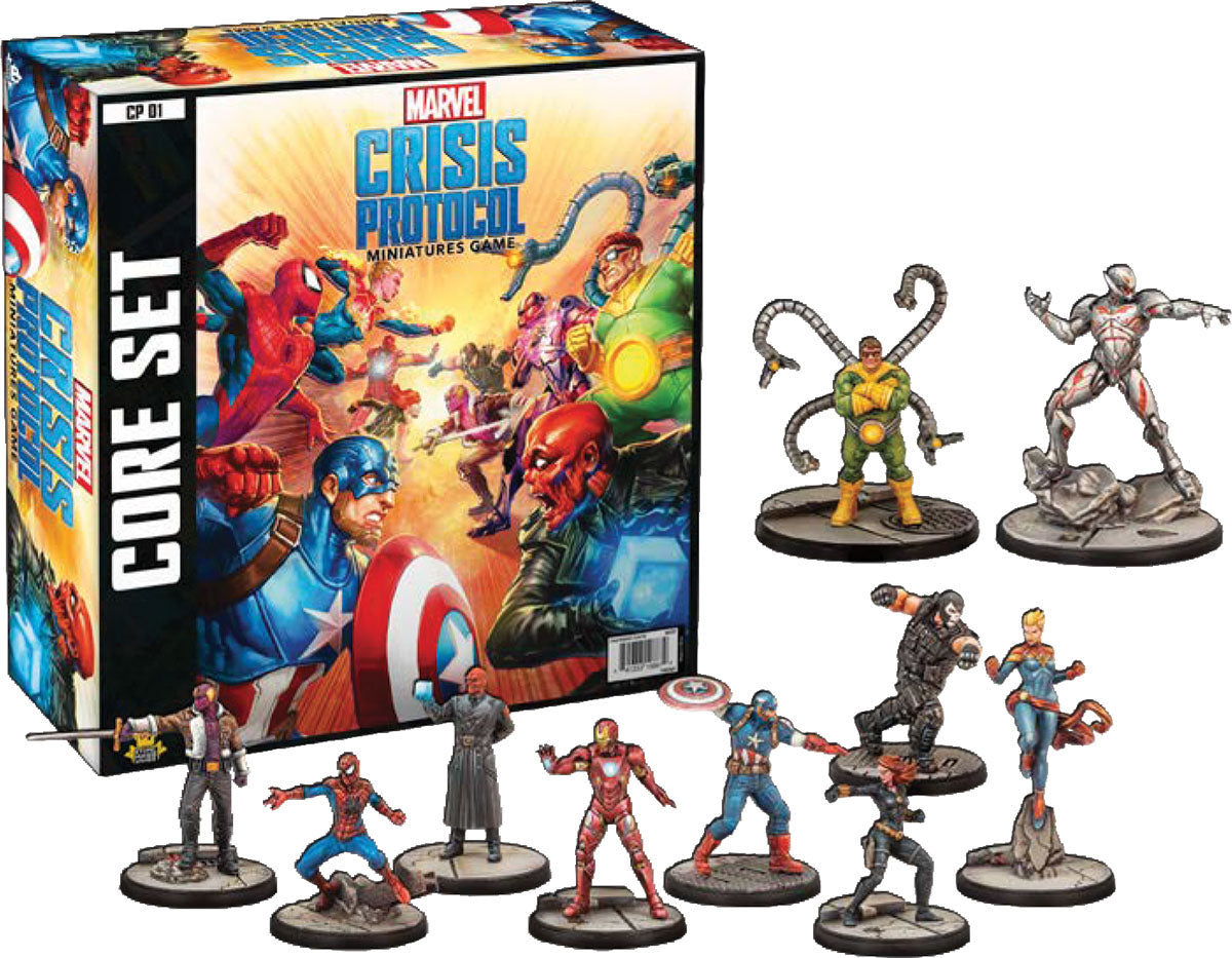 Marvel: Crisis Protocol - Core Set | Game Knights MA