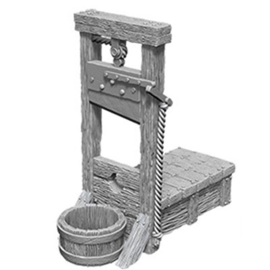 WizKids Deep Cuts Unpainted Miniatures: W10 Guillotine | Game Knights | MA | Game Knights MA
