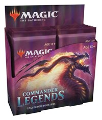 MTG: COMMANDER LEGENDS: COLLECTOR BOOSTER PACK | Game Knights | MA | Game Knights MA