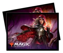 Magic the Gathering: Throne of Eldraine Rowan Deck Protector Sleeves (100) - V7 | Game Knights | MA | Game Knights MA