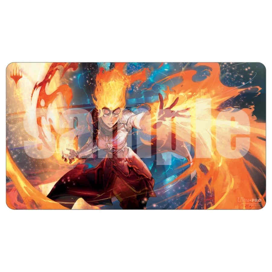ULTRA PRO: MAGIC THE GATHERING PLAYMAT - WAR OF THE SPARK - ALTERNATE ART - Chandra | Game Knights | MA | Game Knights MA
