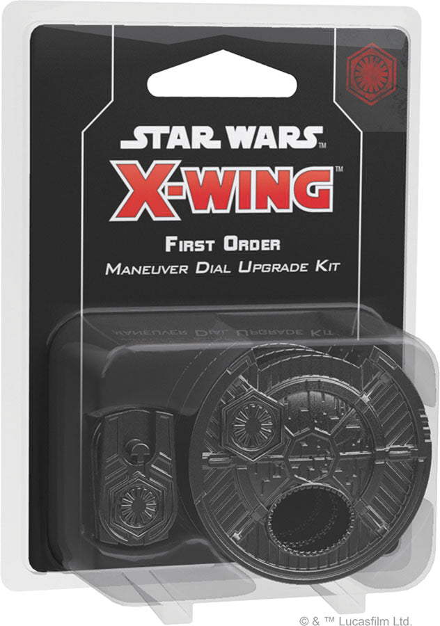 Star Wars X-Wing: 2nd Edition - First Order Maneuver Dial Upgrade Kit | Game Knights | MA | Game Knights MA