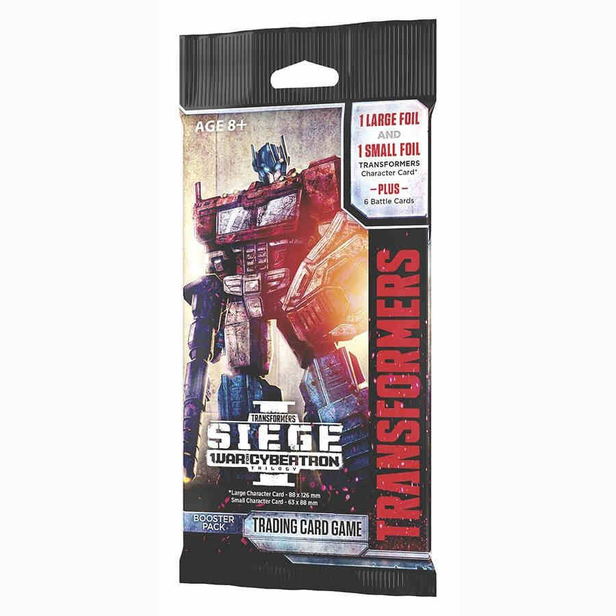 Transformers TCG: War for Cybertron - Siege Booster Pack | Game Knights MA