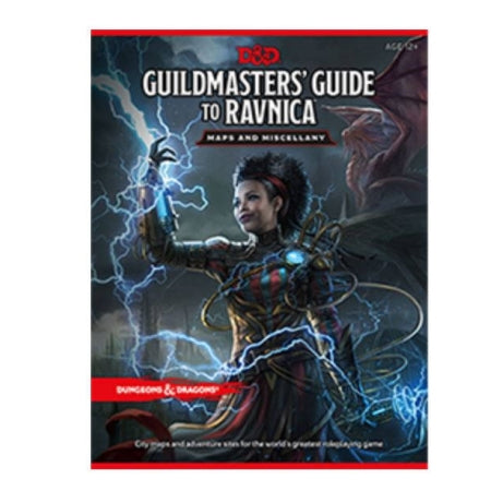 DUNGEONS AND DRAGONS 5E: GUILDMASTER'S GUIDE TO RAVNICA MAP PACK | Game Knights MA