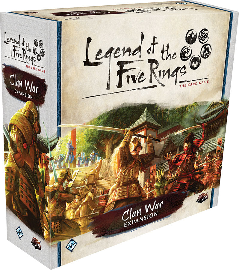 Legend of the Five Rings LCG: Clan War Expansion | Game Knights | MA | Game Knights MA