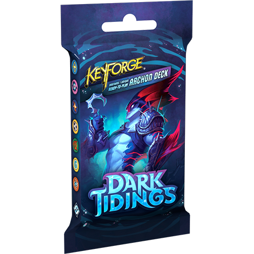 Keyforge: Dark Tidings Deck Display (12) | Game Knights | MA | Game Knights MA