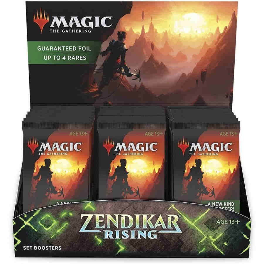 MAGIC THE GATHERING: ZENDIKAR RISING: SET BOOSTER BOX | Game Knights | MA | Game Knights MA