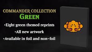 Commander Collection: Green | Game Knights MA