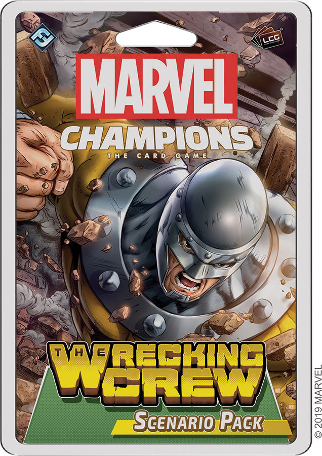 Marvel Champions LCG: The Wrecking Crew Scenario Pack | Game Knights | MA | Game Knights MA