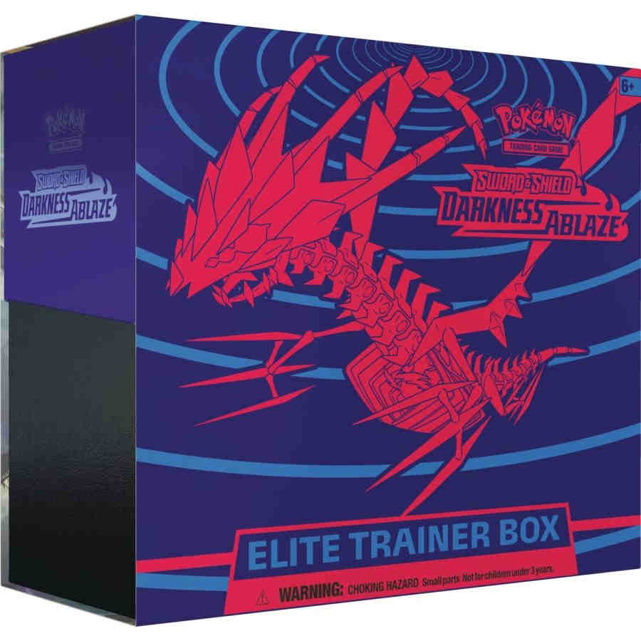 POKEMON TCG: SWORD AND SHIELD DARKNESS ABLAZE ELITE TRAINER | Game Knights MA