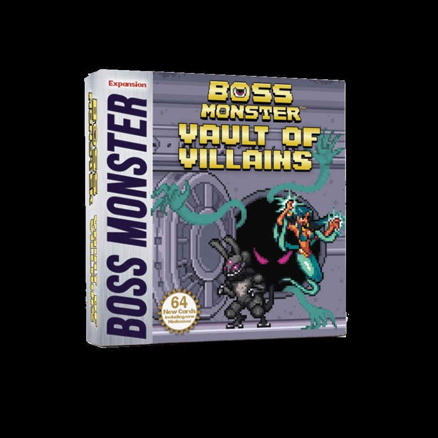 BOSS MONSTER: VAULT OF VILLAINS EXPANSION | Game Knights MA