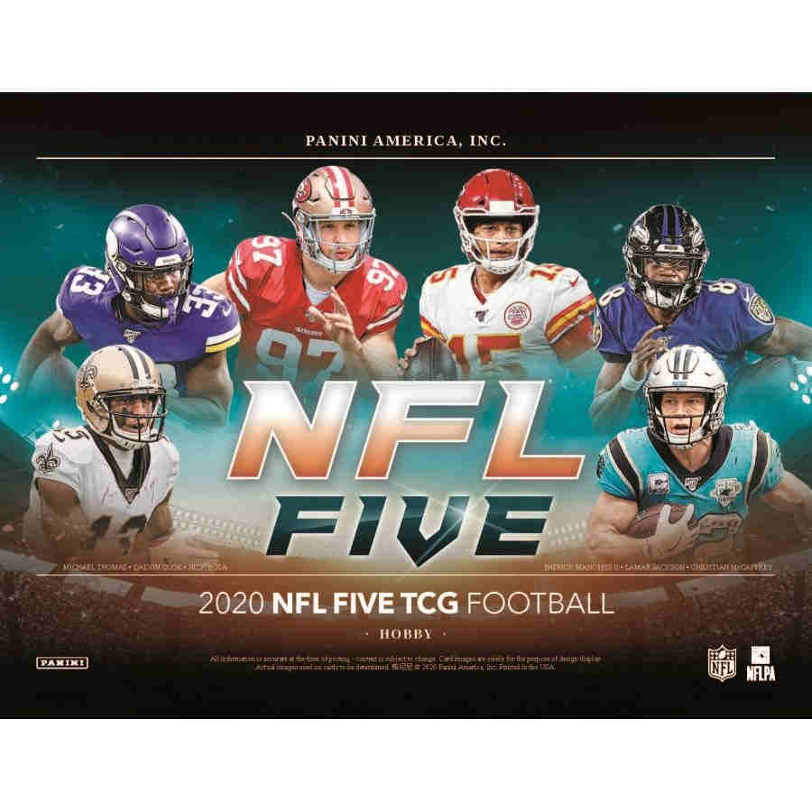 2020 PANINI NFL FIVE TCG BOOSTER Box | Game Knights MA