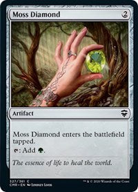 Moss Diamond [Commander Legends] | Game Knights | MA | Game Knights MA