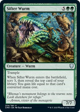 Sifter Wurm [Commander Legends] | Game Knights | MA | Game Knights MA