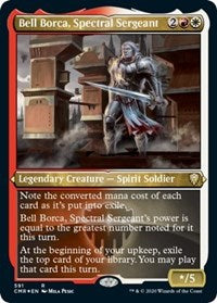 Bell Borca, Spectral Sergeant (Foil Etched) [Commander Legends] | Game Knights | MA | Game Knights MA