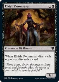 Elvish Doomsayer [Commander Legends] | Game Knights | MA | Game Knights MA