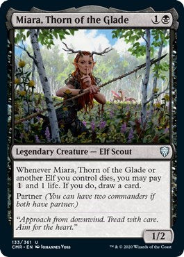 Miara, Thorn of the Glade [Commander Legends] | Game Knights | MA | Game Knights MA