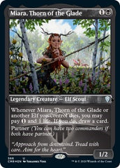 Miara, Thorn of the Glade (Foil Etched) [Commander Legends] | Game Knights | MA | Game Knights MA