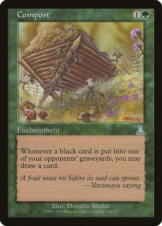 Compost [Urza's Destiny] | Game Knights | MA | Game Knights MA