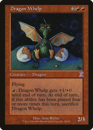 Dragon Whelp [Time Spiral Timeshifted] | Game Knights | MA | Game Knights MA