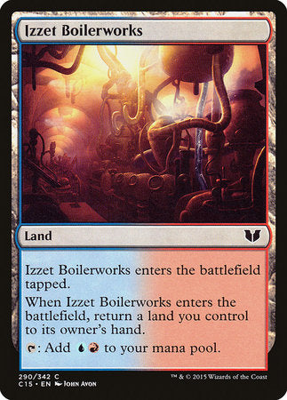 Izzet Boilerworks [Commander 2015] | Game Knights | MA | Game Knights MA