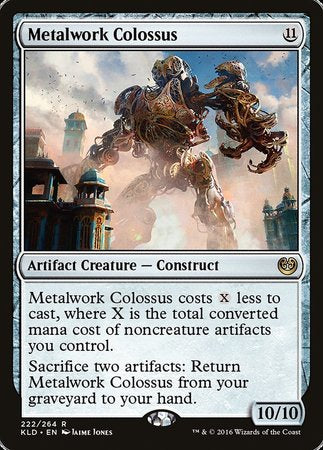 Metalwork Colossus [Kaladesh] | Game Knights | MA | Game Knights MA