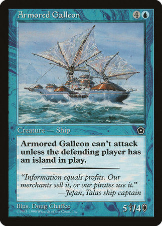Armored Galleon [Portal Second Age] | Game Knights | MA | Game Knights MA