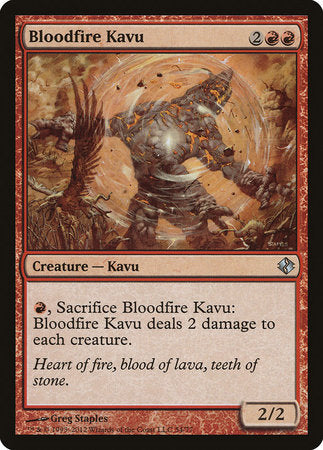 Bloodfire Kavu [Duel Decks: Venser vs. Koth] | Game Knights | MA | Game Knights MA