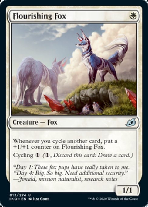 Flourishing Fox [Ikoria: Lair of Behemoths] | Game Knights | MA | Game Knights MA