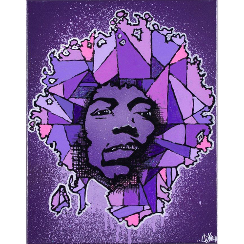 LIL' JIMI 11X14' ORIGINAL ARTWORK - JRartworks