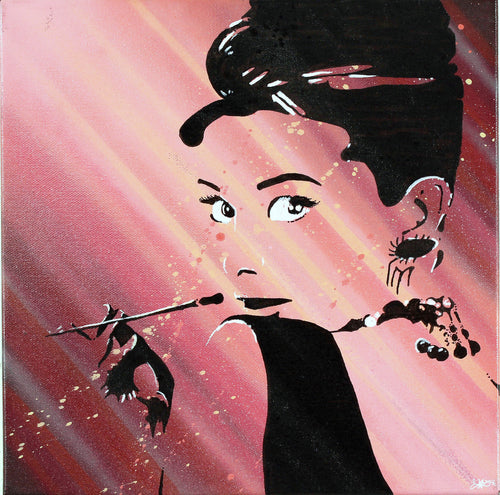 AUDREY 12X12' ORIGINAL ARTWORK - JRartworks
