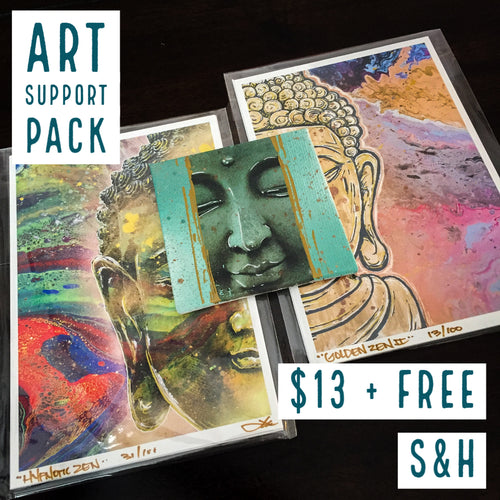 ART SUPPORT PACK - TYPE: A + FREE S&H - JRartworks