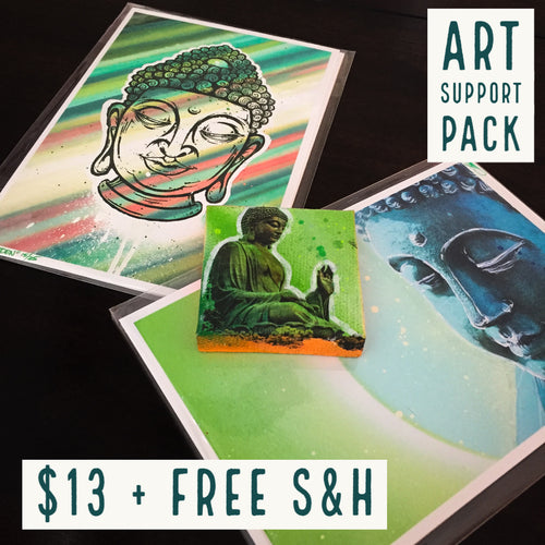 ART SUPPORT PACK - TYPE: B + FREE S&H - JRartworks