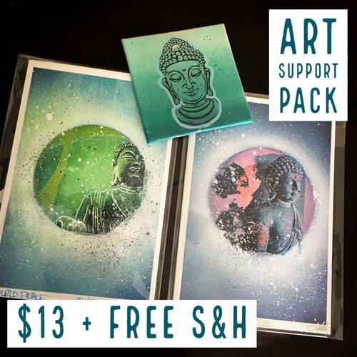 ART SUPPORT PACK - TYPE: C + FREE S&H - JRartworks