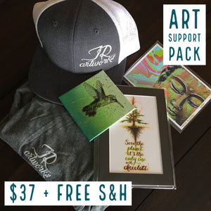 ART SUPPORT PACK - TYPE: F + FREE S&H - JRartworks
