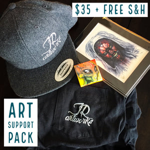 ART SUPPORT PACK - TYPE: E + FREE S&H - JRartworks