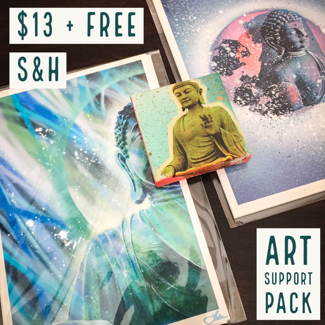 ART SUPPORT PACK - TYPE: I + FREE S&H